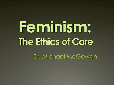 Feminist Ethics of Care