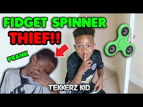 STOLEN FIDGET SPINNER Revenge EVIL Prank on Brother!!