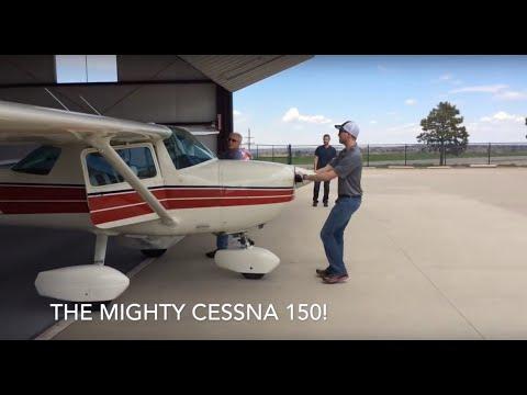 Denver, Colorado to Jacksonville, Texas in a Cessna 150!