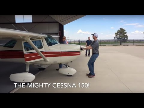 Denver, Colorado to Jacksonville, Texas in a Cessna 150!