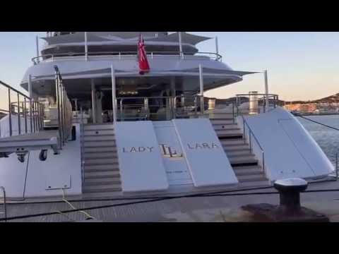 LADY LARA LÜRSSEN 91m MEGAYACHT IN IBIZA BY SOURCE LUXURY YACHTS