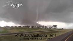11/7/11 Southwest Oklahoma Tornadofest (Tipton, Manitou & Snyder Tornadoes)