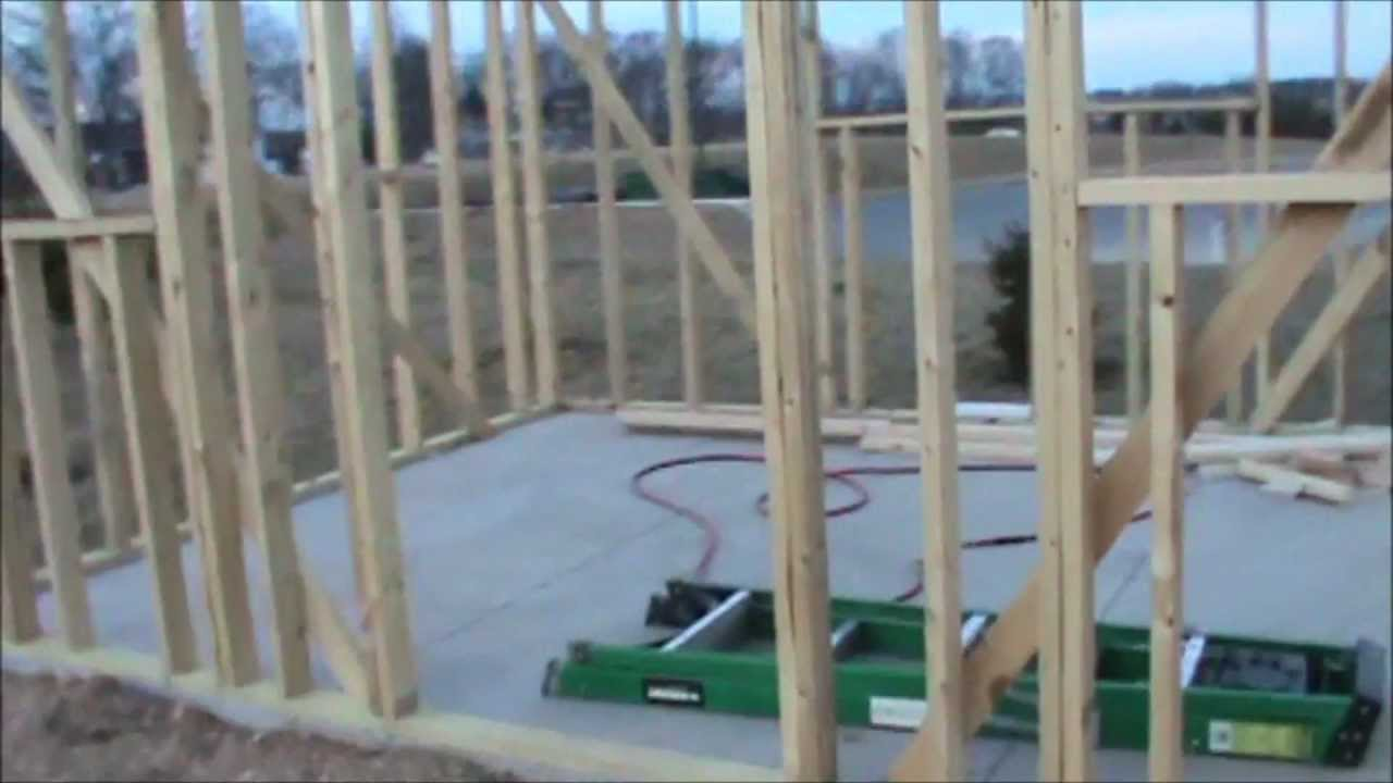 shed slab - YouTube