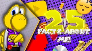 25 Facts About Me! ll My 100th Video