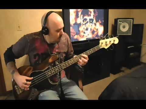 Brad Paisley - Whiskey Lullaby Bass Cover with Tab