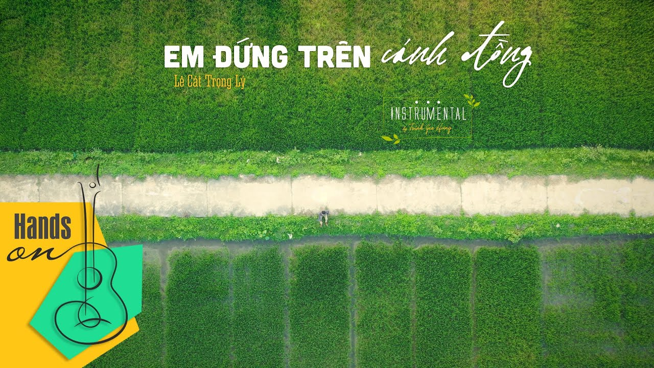 Em đứng trên cánh đồng – Lê Cát Trọng Lý – Beat guitar | Karaoke acoustic by Trịnh Gia Hưng