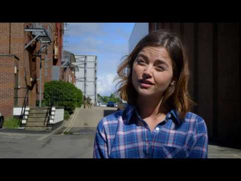 "Me Before You: Jenna Coleman ""Katrina 'Treena' Clark"" Behind the Scenes Movie Interview"