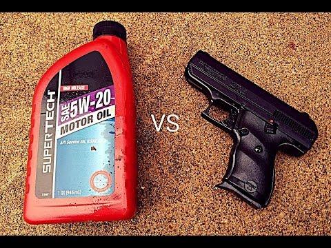 Hi-Point vs Motor Oil Torture Test
