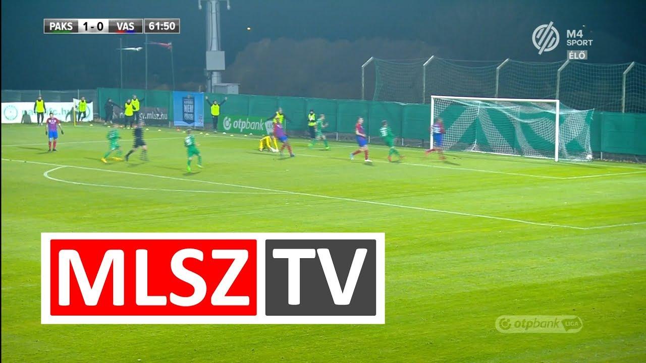 Szabó János duplázása a Paksi FC - Vasas FC mérkőzésen