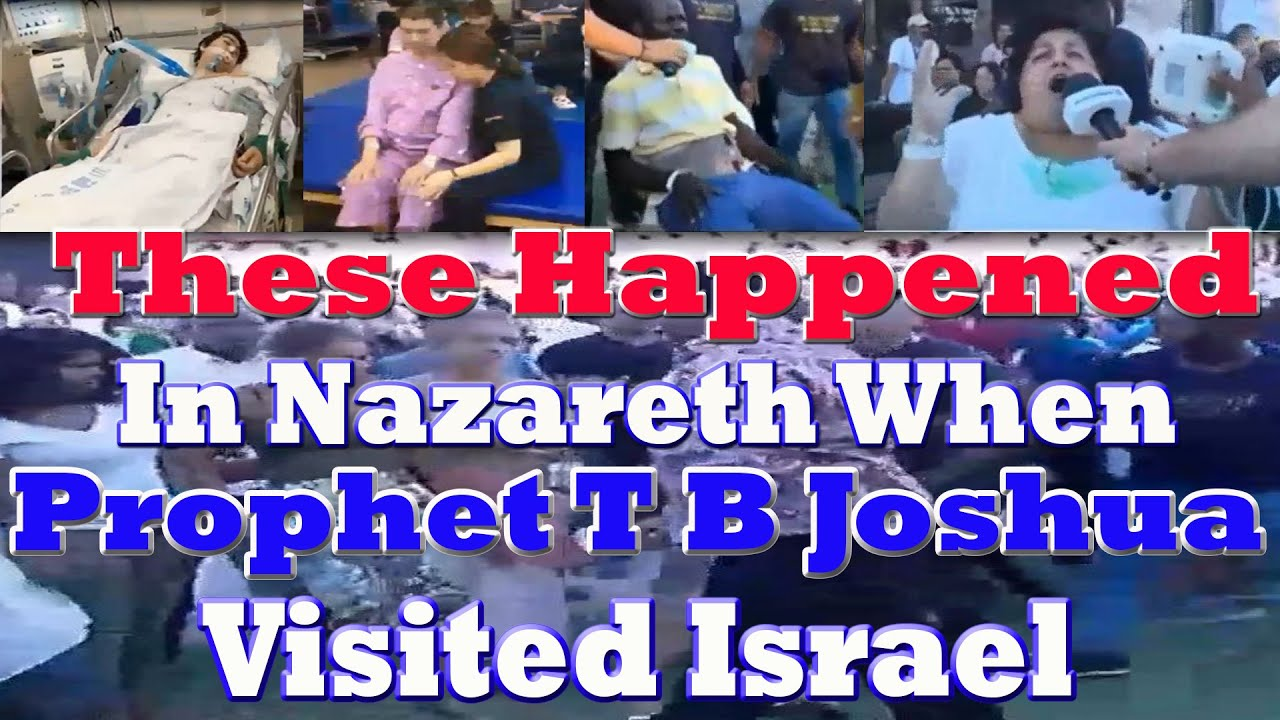Download These Happened In Nazareth When  Prophet T B Joshua visited Israel