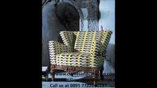 Buy Designer Chairs Online In India- Teak Wood Antique Chairs