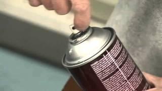 3M Super 77 Spray Adhesive - Gluing Batting to Foam Video