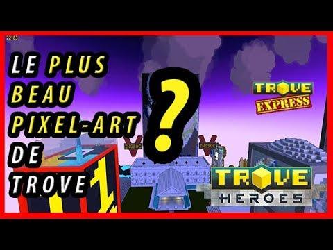 Trove Le Plus Beau Pixel Art De Trove Sublime Video
