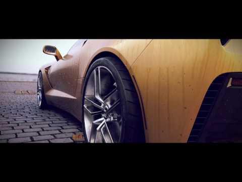 Corvette Stingray C7 - 3D Blender Animation
