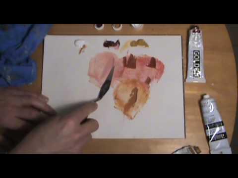 Oil Paint Colors To Make Flesh Tones