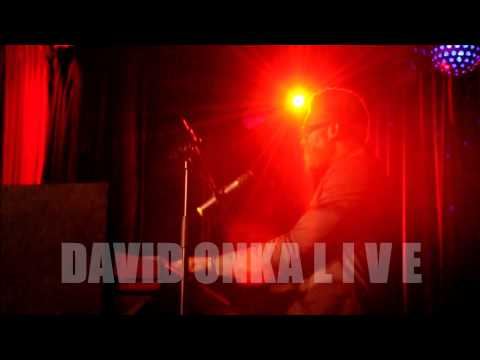 David Onka (live) - Knocking On Heaven's Door (cover) _ short clip from manager's cam