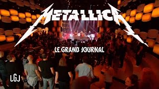 Metallica Master Of Puppets Hardwired To Self Destruct PR Tour 15 11 2016 Le Grand Journal PARIS