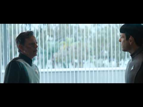 Pike meets with Kirk and Spock after Violating Directives  ST Into Darkness Clip