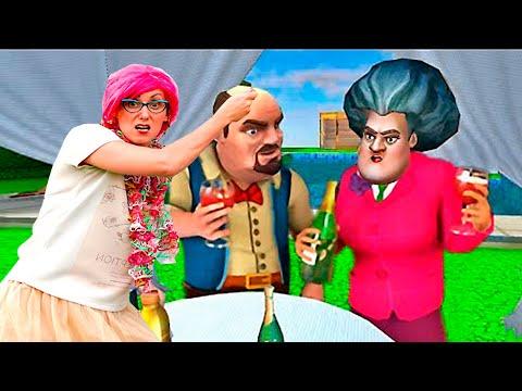 НОВАЯ Страшная Училка 3D ! Богатые школьники все ИСПОРТИЛИ!