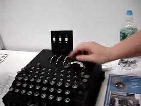 NSA Instructing How to Use an Enigma