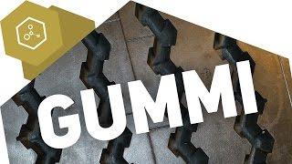 Wie wurde Gummi entdeckt?