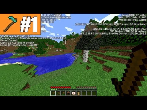 Minecraft Challenges - A Waste of Resources, Part 1: Where are the Animals?