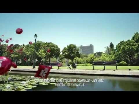 Freeview red balloons ad