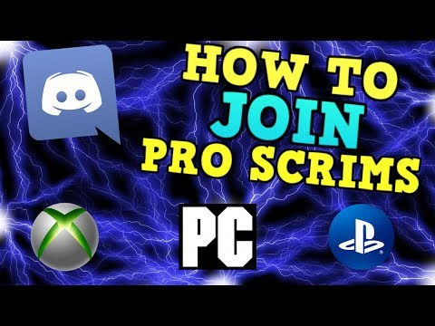 How To Join Pro Discords On Console Or PC ! (Fortnite)