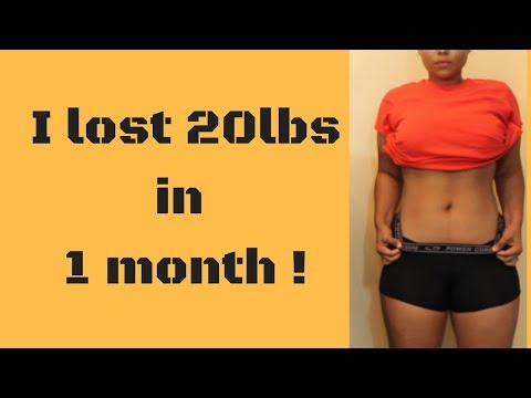 I Lost 20 Lbs In One Month| Week 4 Results + Q&A