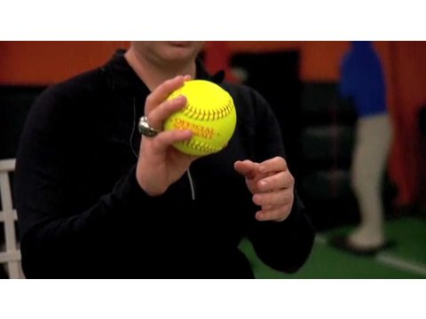 How To Hold A Softball Correctly | Softball Lessons