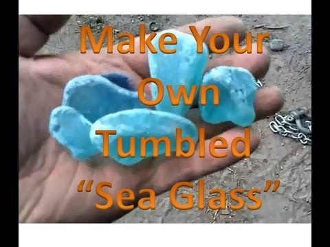 how to make your own sea glass - How To Make Sea Glass
