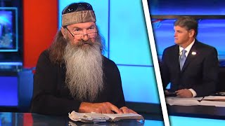 Duck Dynasty Star Solves ISIS On Hannity With Magic Book