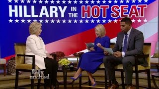Hillary in the Hot Seat