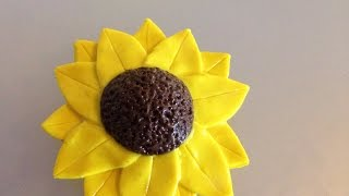 How To Create A Polymer Clay Sunflower - Diy Crafts Tutorial - Guidecentral