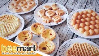 Hướng dẫn làm Bánh Waffle bằng máy nướng đa năng tại nhà - BEEMART
