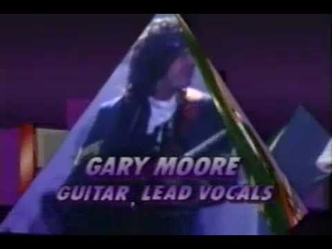 Gary Moore  Over the hills and far away     in Stockholm 1987