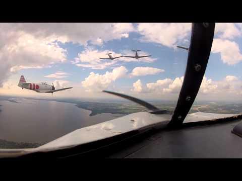 Tora! Tora! Tora! - HD Cockpit Video Oshkosh 2012.mov