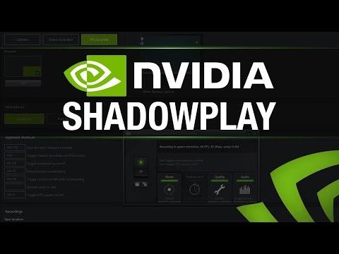 Cum sa inregistrezi jocuri cu Shadowplay?   Tutorial
