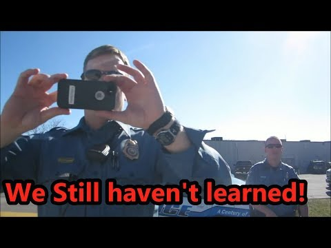2ND AUDIT FALCON CSPD!!! FOLLOWED BY POLICE!!  (Mirrored)