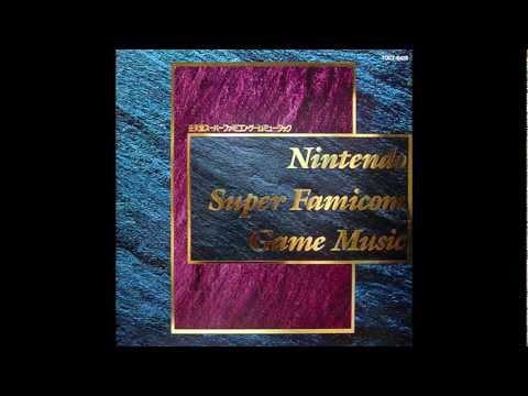 Nintendo Super Famicom Game Music Track 5: Red Canyon (F-Zero)