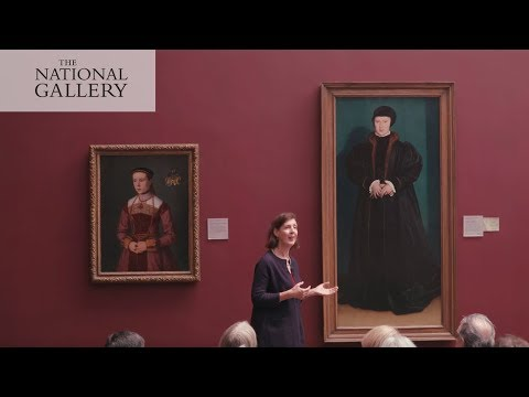 Hans Holbein's 'Christina of Denmark' | The History of the N
