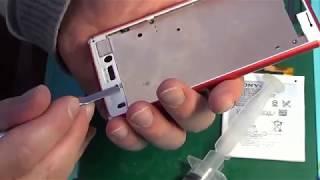 Замена шлейфа кнопки Power на Xperia M4 Aqua (E2303)
