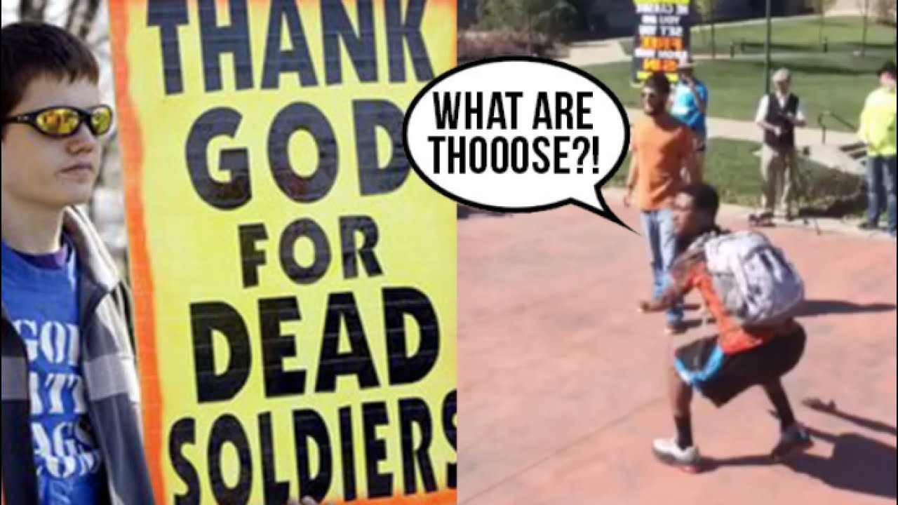 the rights of the westboro baptist church The supreme court, in an 8-1 decision, ruled wednesday that members of the renegade westboro baptist church have a constitutionally protected right to protest military funerals, though their demonstrations are widely despised and deplored.