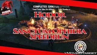ESO Full Speedrun Sanctum Ophidia HODOR