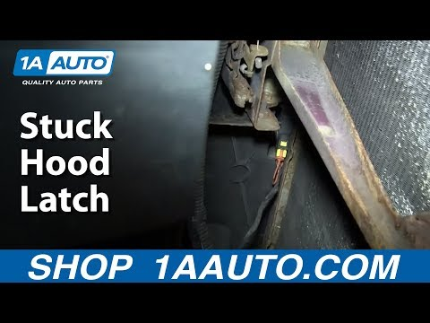 What to do if you have a Stuck Hood Latch or hood won't open