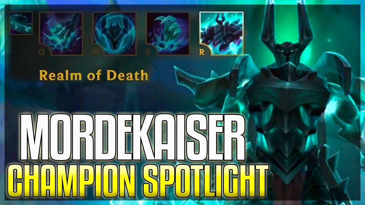 mordekaiser rework champion spotlight