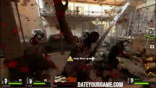left 4 dead 2 pc gameplay the parish 1 the waterfront demo expert