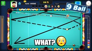 THIS SHOT...WHAT? 9 Ball Pool Miniclip Update- 5M & 10M Insane Match [Atlantis Cue]
