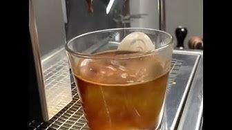 أمريكانو كوفي Caffè Americano by @baristaali اصطهاج ❤️☕️