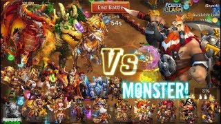 AMAZING! Heroes 1V1 Centaur King! Who can kill him? Castle Clash